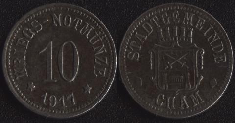 Хам 10 пфеннигов 1917