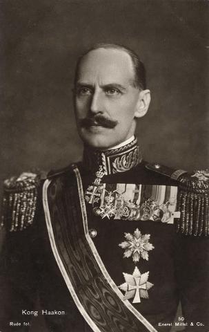 Король Норвегии Хокон VII