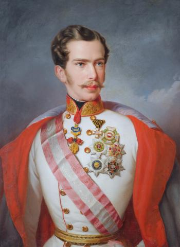 Император Австрии Франц Иосиф I (1855)