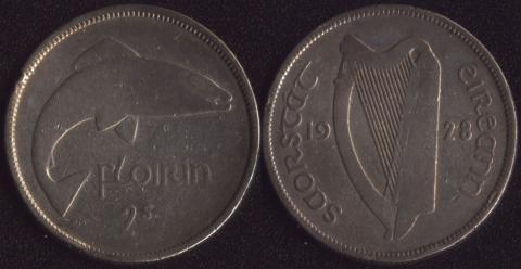 Ирландия флорин 1928