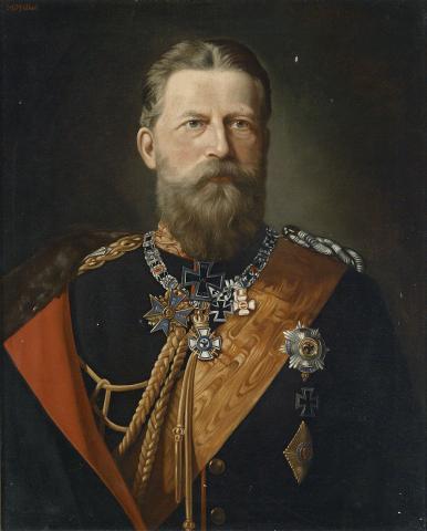 Император Германской Империи Фридрих III