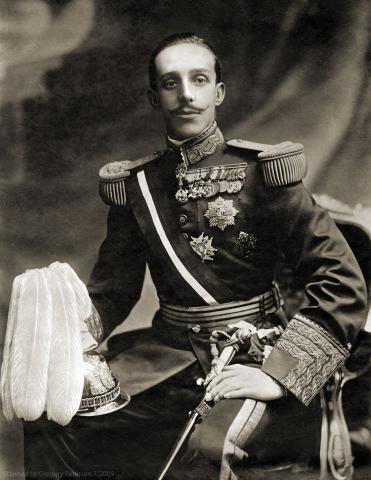 Король Испании Альфонсо XIII