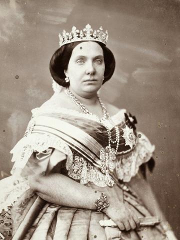 Королева Испании Изабелла II