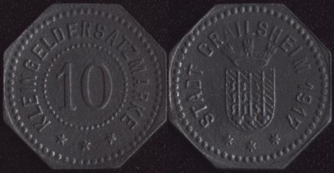 Крайлсхайм 10 пфеннигов 1917