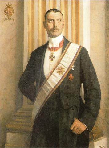 Король Дании Кристиан X
