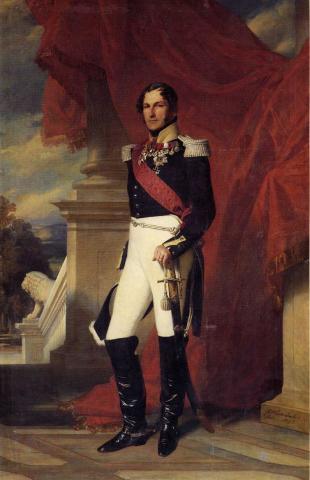 Леопольд I - король Бельгии