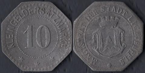 Лихтенфелс 10 пфеннигов