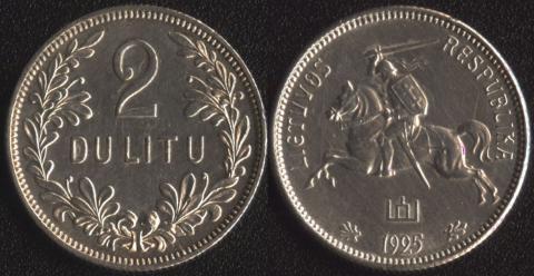 Литва 2 лита 1936