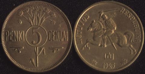 Литва 5 сентаи 1925