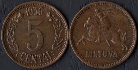 Литва 5 сентаи 1936