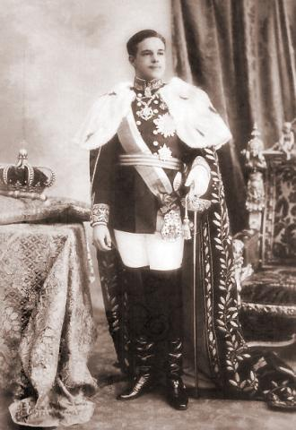 Король Португалии  Мануэль II