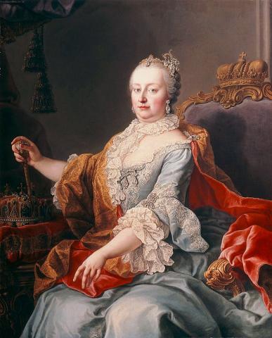 Мария Терезия, королева Венгрии
