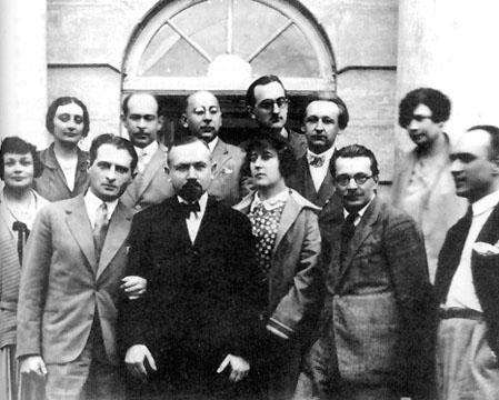 Янина Морштинова (вверху слева)