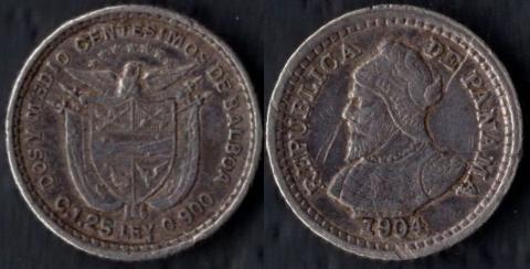 Панама 2,5 сентесимо 1904