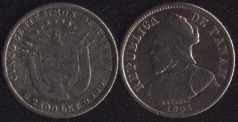 Панама 5 сентесимо 1904