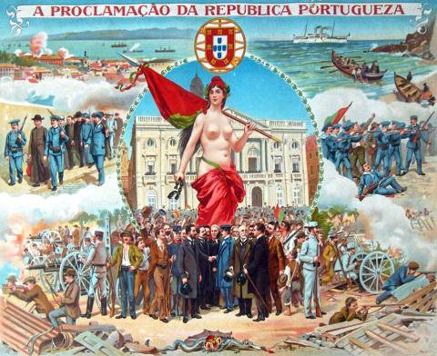 Плакат периода Португальской Революции