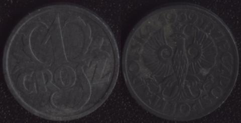 Польша 1 грош 1939