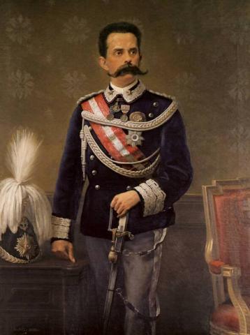 Король Италии Умберто I