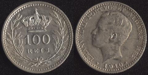 Португалия 100 рейс 1910