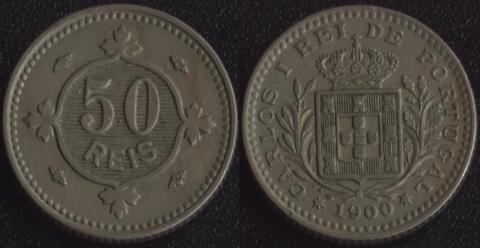 Португалия 50 рейс 1900