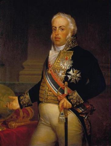 Король Португалии, Бразилии и Алгарве Жуан VI