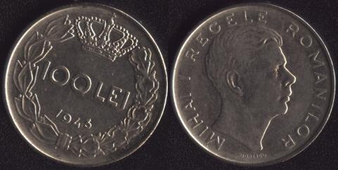 Румыния 100 леи 1943