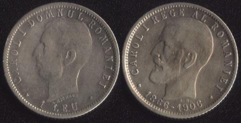 Румыния 1 леи 1906