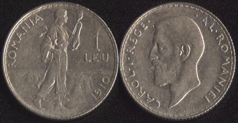Румыния 1 леи 1910