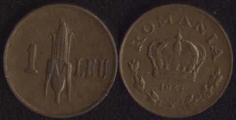 Румыния 1 леи 1941