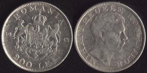 Румыния 200 леи 1942