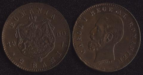 Румыния 2 бани 1900