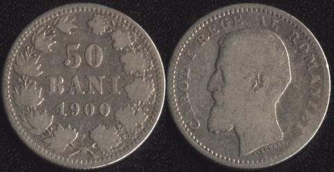 Румыния 50 бани 1900