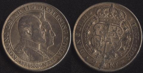Швеция 2 кроны 1907