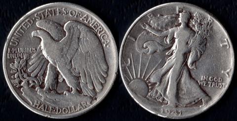 США 1/2 доллара 1941