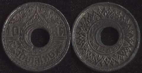 Таиланд 10 сатанг 1945