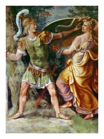 Фетида Протягивает Ахиллесу щит