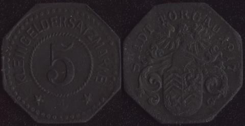 Торгау 5 пфеннигов 1917