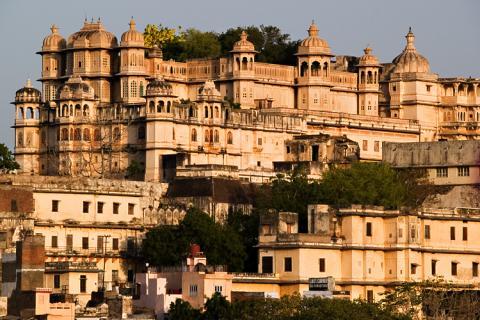 Большой дворец раджи в Удайпуре