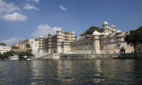 Большой дворец раджи в Удайпуре (2)