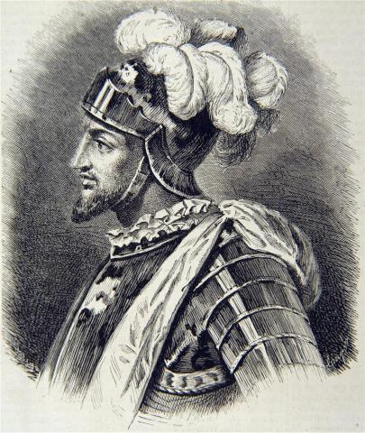 Васко Нуньес де Бальбоа (гравюра)