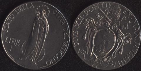 Ватикан 1 лира 1941