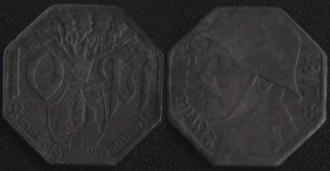 Вайльбург 10 пфеннигов 1917