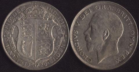 Великобритания 1/2 кроны 1926