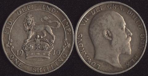 Великобритания 1 шиллинг 1910