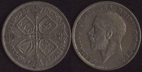 Великобритания флорин 1933