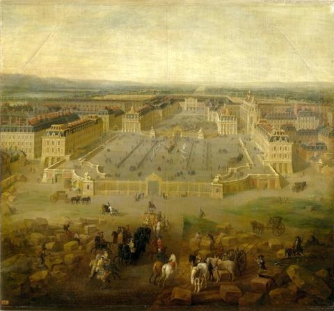 Пьер-Дени Мартин. Версальский дворец.