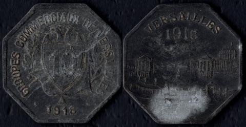 Версаль 10 сантим 1918