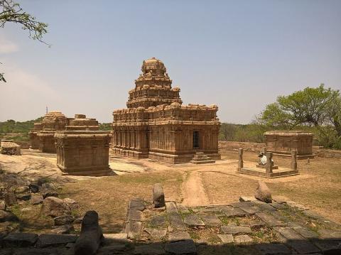 Храм бога Шивы в Пудуккоттае
