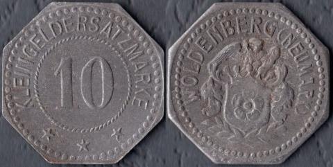 Вольденберг 10 пфеннигов