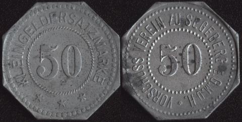 Зегеберг 50 пфеннигов
